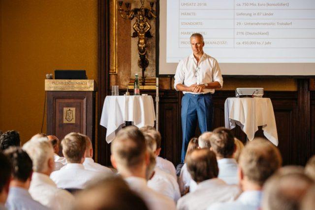 Управляющий акционер и генеральный директор profine Group Д-р Петер Мрозик выступил с докладом на I Венском оконном конгрессе!