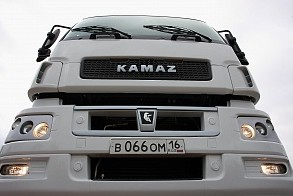тягача КАМАЗ-65206 и бортового магистрального автомобиля КАМАЗ-65207