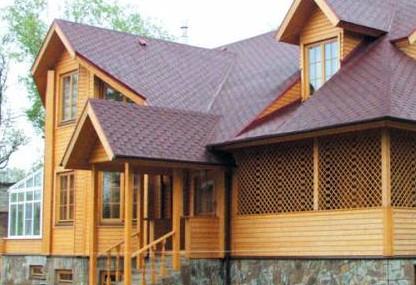 Доля домов из клееного бруса в Московском регионе приближается к 10%