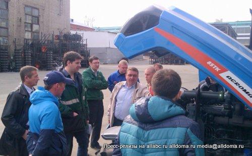 На заводе «САРЭКС» проводится повышение квалификации сервисных специалистов АГРОМАШ.