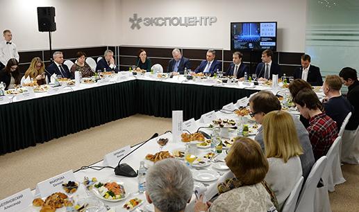 В «Экспоцентре» в марте состоялся пресс-завтрак, посвященный предстоящей выставке «Связь-2016».
