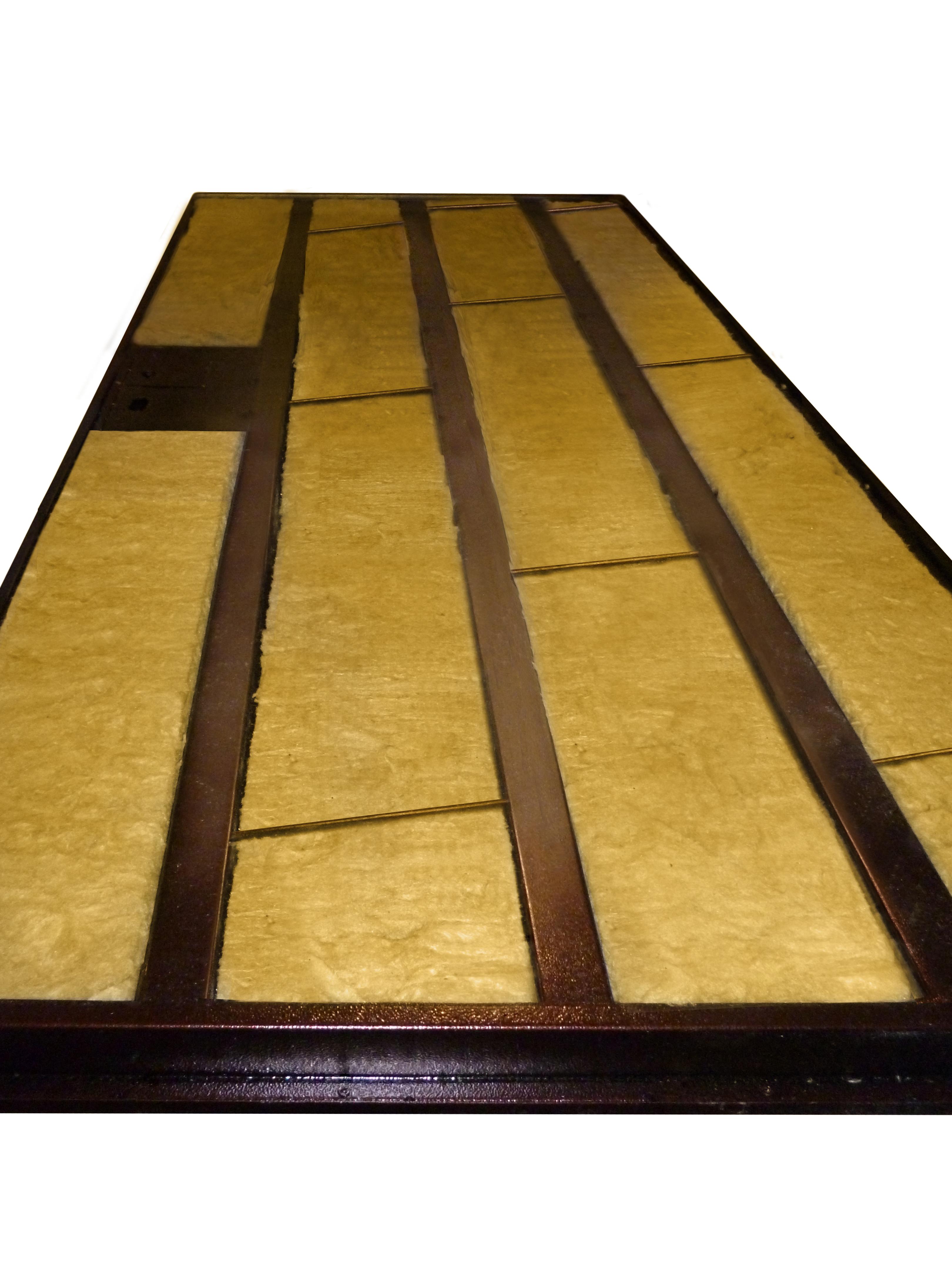 металлические двери шумо теплоизоляция